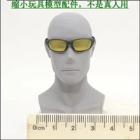 16 scale yellow sunglasses model for 12