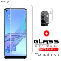 For OPPO A53 Glass Screen Camera Film Protector for OPPO A53 Glass For OPPO A74 A54 A94 A53 A32 A73 A72 A52 Tempered Glass