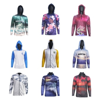 2021 New Fishing Clothing Professional Fishing Shirt Long Sleeve Clothes High Quality Sun Protection Clothing