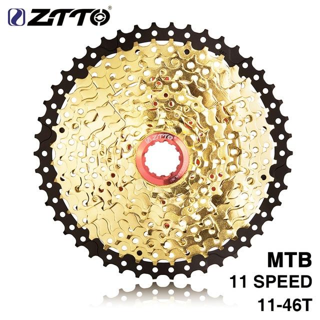 Ztto 11 s 46 t sl l ouro preto mtb mountain bike peças volante xt k7 x1 x01 gx nx 1x de alta velocidade caixa roda livre frete grátis