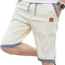 linen mens shorts Newest Summer Casual Shorts Men Cotton Fashion Men Short Bermuda Beach Short Plus