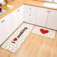 kitchen long non slip mat bathroom entry european and american floor mat door mat simple and beautiful carpet