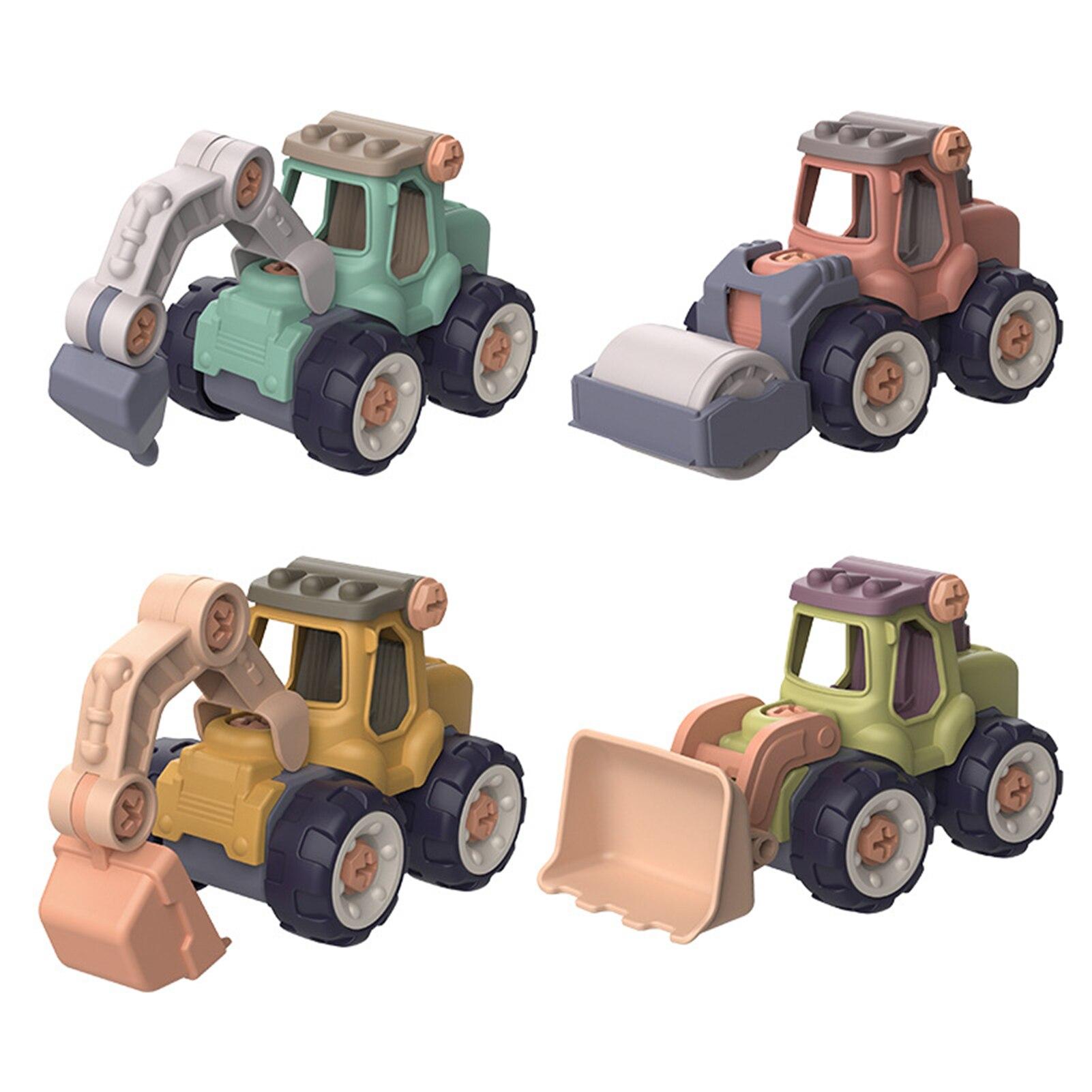 Сборка бульдозер сделай сам Съемная образовательных грузовик игрушечных строительных транспортных средств игровой набор с игрушечная от...