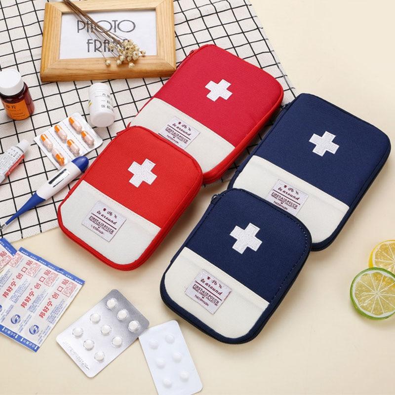 Tragbare Reisen Medizinische Kit Lagerung Mini Überleben Tasche First Aid Kit Haus Erste Hilfe Kleine Medizin Tasche Notfall Kit Medizin