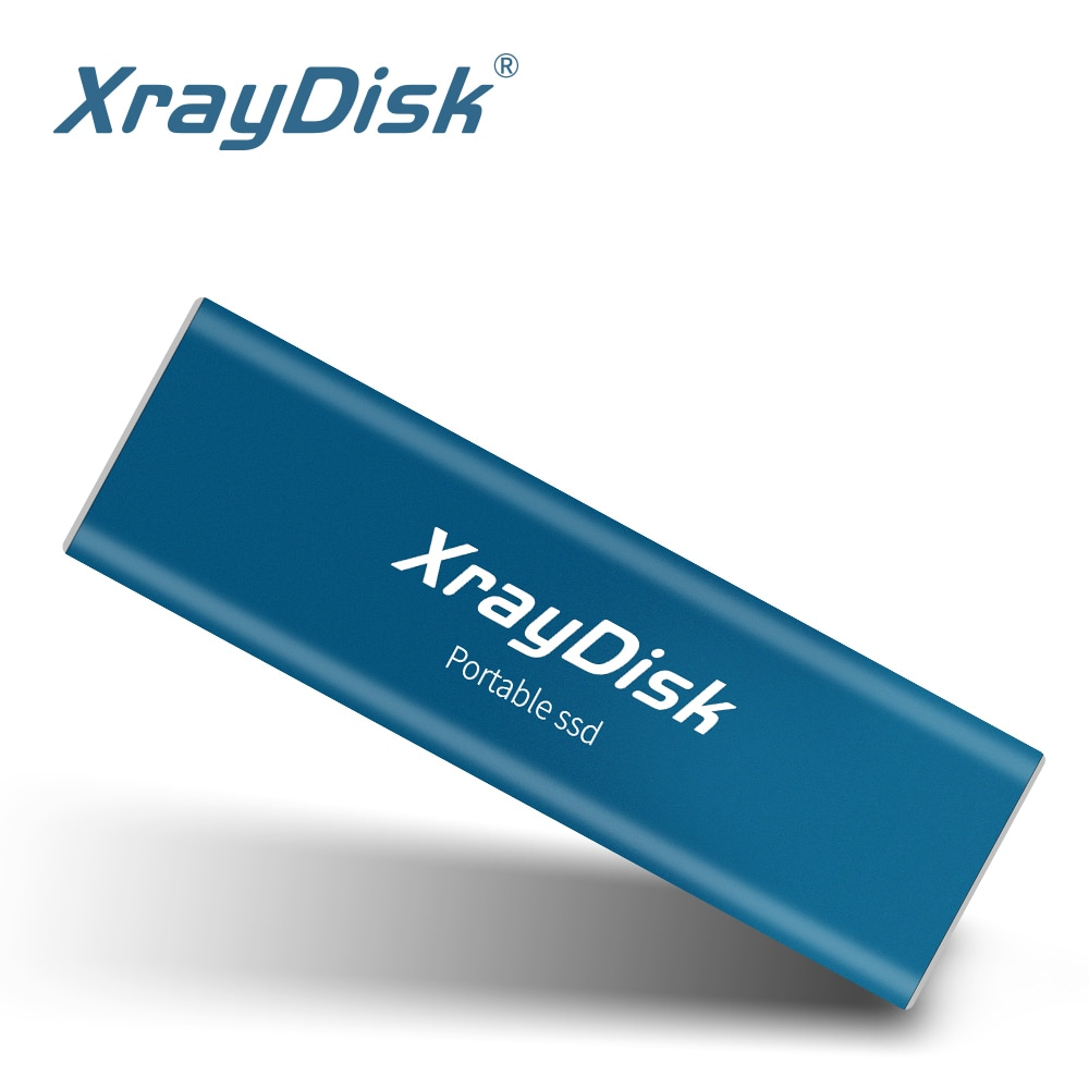 XrayDisk Portable SSD 256GB External SSD  512GB Portable SSD External hard drive hdd for laptop desktop with Type C USB3.1 Gen 2