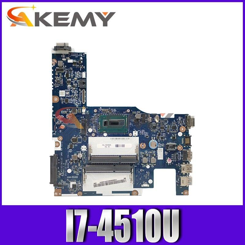 اللوحة الأم لأجهزة الكمبيوتر المحمول لينوفو Ideapad G50-70 الأساسية I7-4510U اللوحة الأم اللوحة الأم 5B20G45461
