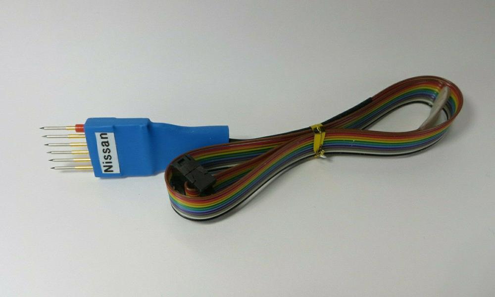 Nissan 3mm pitch 6 pin pogo adapter for Smelecom USAProg EEPROM Programming