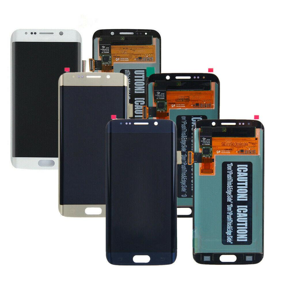 Для Samsung Galaxy S6 Edge LCD G925 G925F SM-G925F дисплей сенсорный экран дигитайзер сборка для SAMSUNG S6 Edge LCD