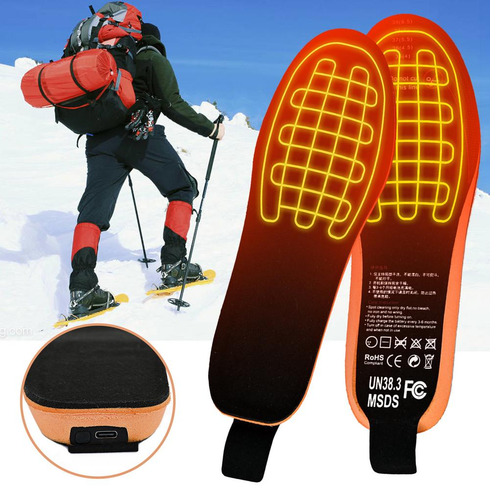 2100mAh Rechargeable Electric Heating Insoles With Remote Control Winter Warm Heated Insoles Sport Shoes Pads For Skiing Hunting enlarge