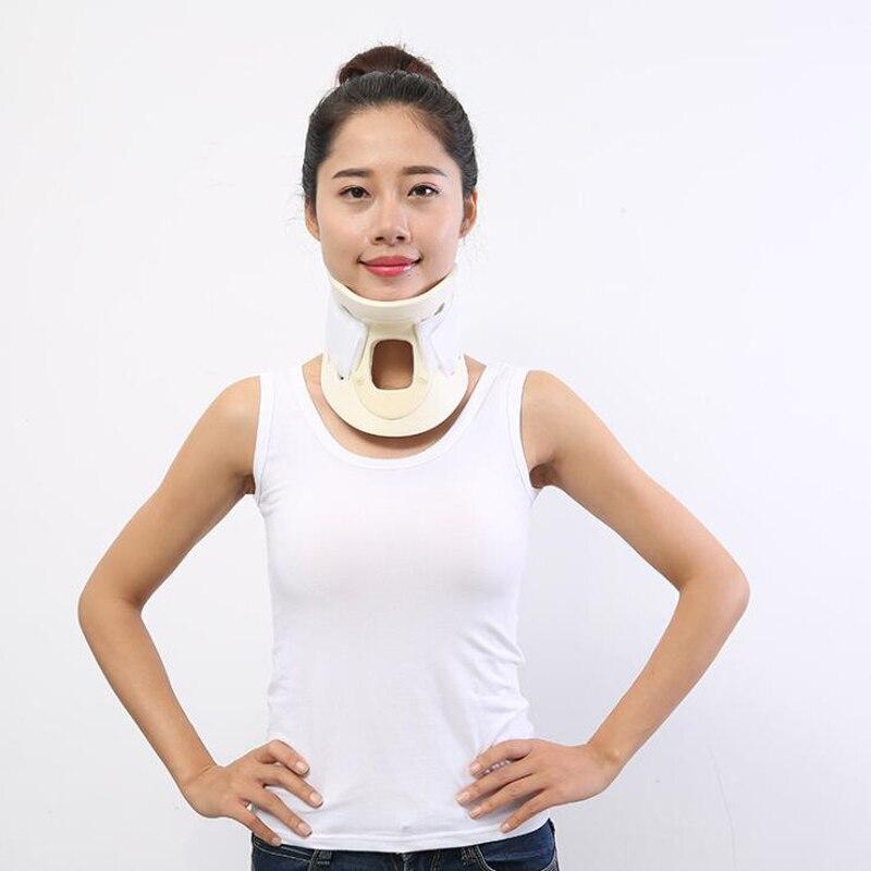 Cinta de pescoço respirável colar cervical médico suporte imobilizador vértebra alívio da dor trator orthose cintas