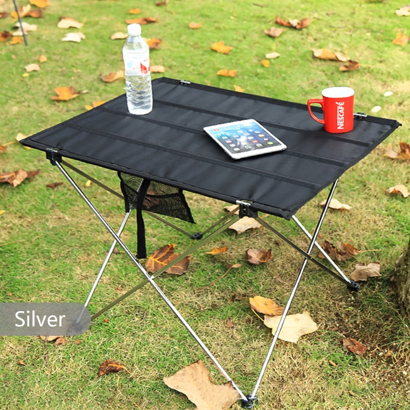 Portable Folding Table Outdoor Camping Home Barbecue Picnic Ultra Light Aluminum Alloy Traveling Table Fishing Outdoor Furniture