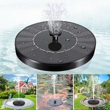 Floating Mini Solar Fountain Garden Water Fountain Pool Pond Home Decoration Outdoor Bird Bath Solar
