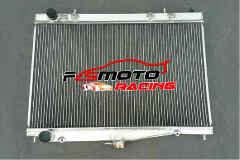 Aluminum Radiator For 1995-2003 95 96 97 98 99 00 01 02 03 NISSAN SKYLINE R34 RB25DET