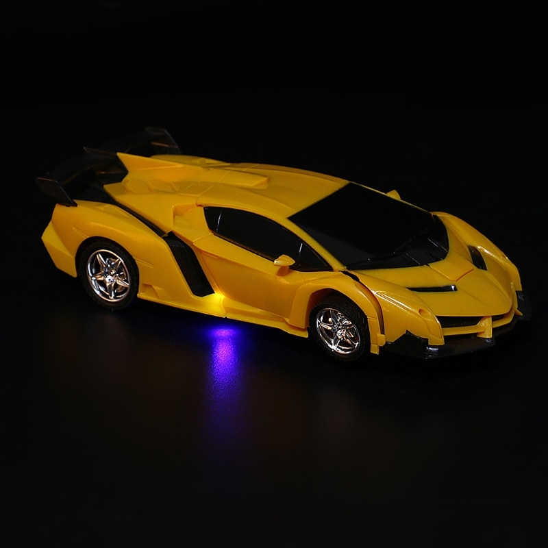 High Speed Remote Control Road Racing Car RC Robots Kids Children Gift Toys 634F enlarge