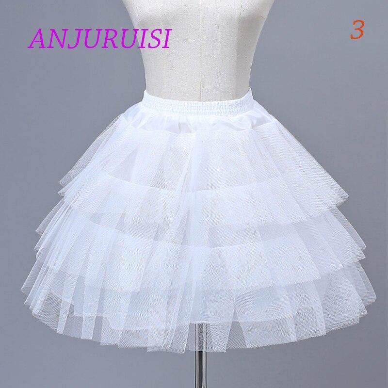 Cvjetnice donja suknja cosplay zabava kratka haljina podsuknja lolita - Vjenčanje pribor - Foto 4