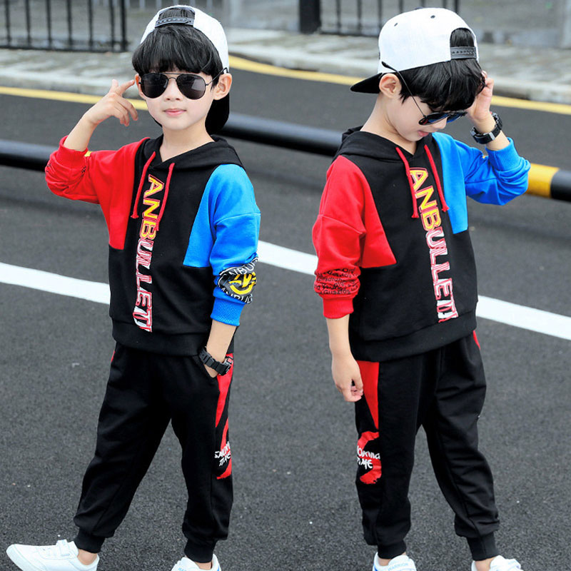 AliExpress - Boys Children Clothing Sets Autumn Winter Big Boys Clothing Sets Fashion Letter Hoodie+Pants 2 Pcs Suits 3-11years Boys Clothes