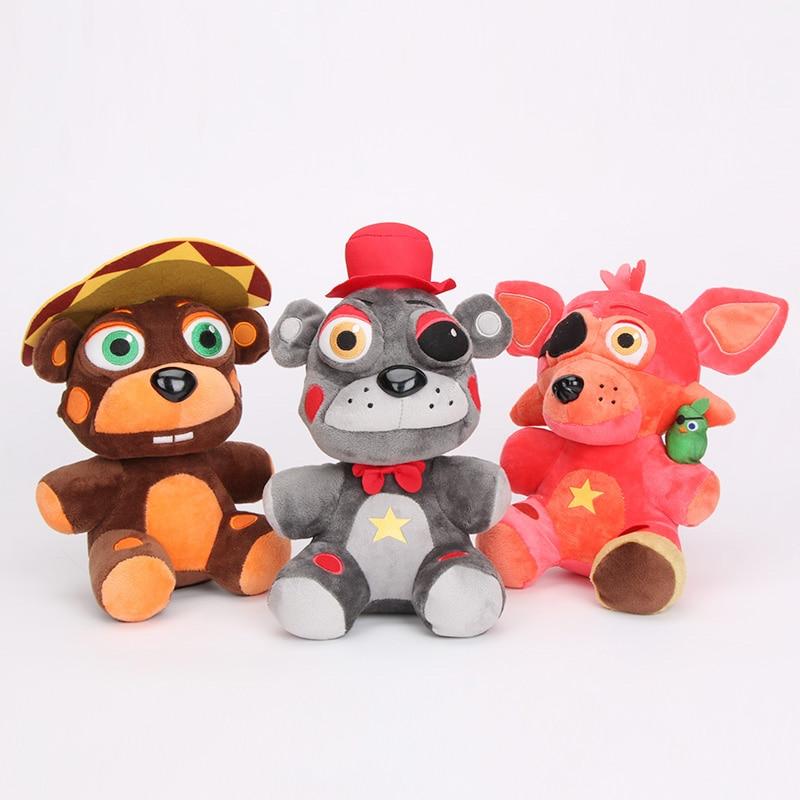 Five Nights At Freddy's FNAF, мягкие игрушки, кошмары, Фокси, мангл, Весенняя ловушка, Бонни, Phantom, Freddy, Fazbear's Pizzeria, подарок