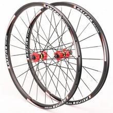 MTB Mountain Bike Disc Brake Wheelset Bicycle Sealed 4Bearing Six Hole Rim Eccentric 7 8 9 10 11 speed 26/27.5/29 Inch Wheel Set