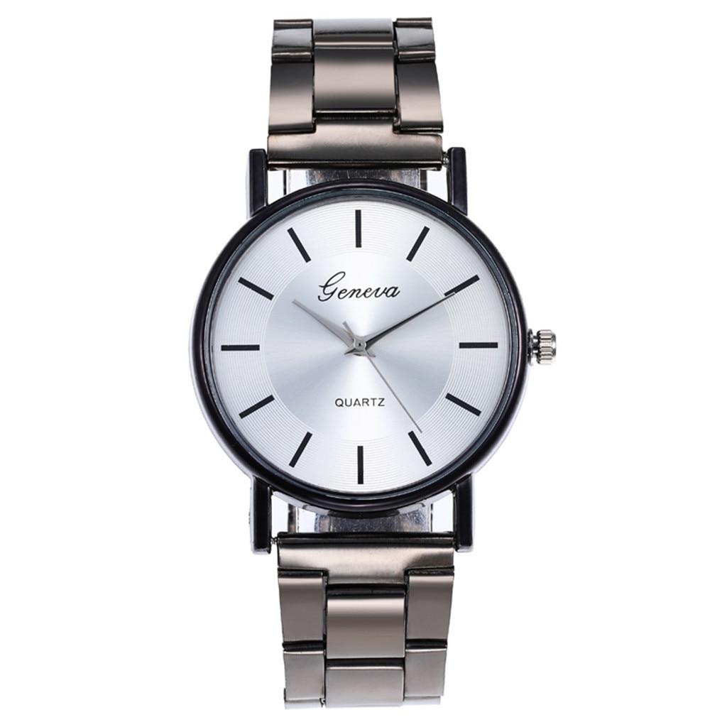 Simple Quartz Watch Stainless Steel  Women Wristwatch Casual Fashion Montre Femme Relogio Feminino R