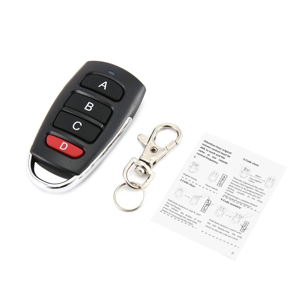 517DK télécommande de porte sans fil 433mhz contrôleur électrique télécommande porte de garage clé de contrôle 4 clé contrôleur de porte
