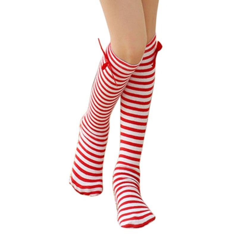 Otoño Invierno niños niñas calcetines de algodón bebé calcetines arco bebé niña calcetines recién nacido hasta la rodilla calcetines largos niñas 3-12Y