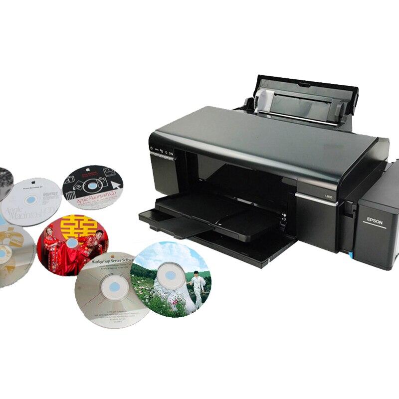 Vilaxh L805 A4 Tamanho Jato de tinta de Impressora para Impressora Epson L805 com WI-FI Para Doucument, PVC/Cartão CD