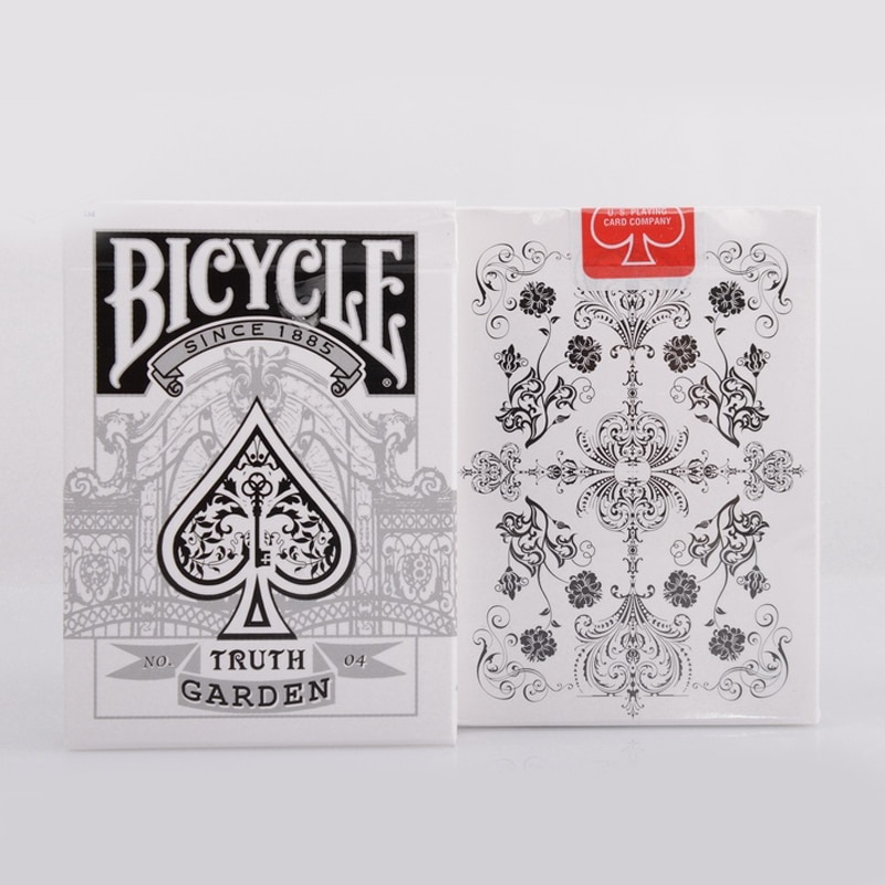1 deck Bicycle Card Truth Garden Bicycle Playing Cards Regular Bicycle Deck Rider Back Card Magic Trick Magic Props