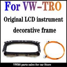 V W-TROC original LCD instrument dekorative rahmen 2GA 857 054 B