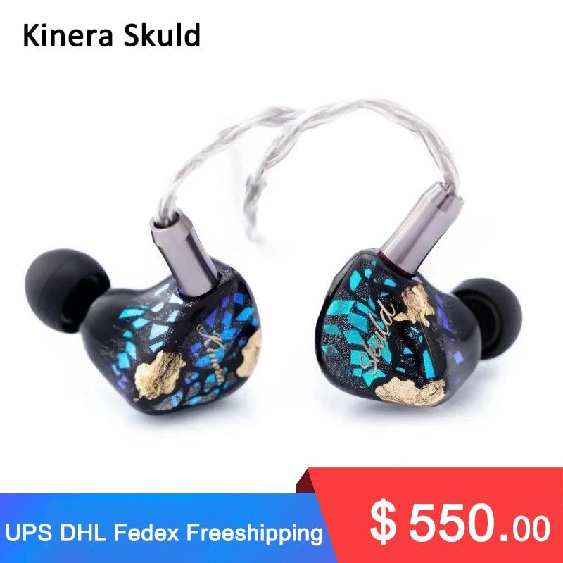 Kinera Skuld 5 BA سائق في الأذن رصد IEM سماعة مع كابل 2pin للانفصال للموسيقيين السمعية