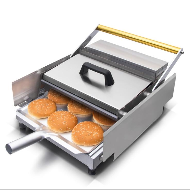 Máquina automática para hacer hamburguesas de doble capa