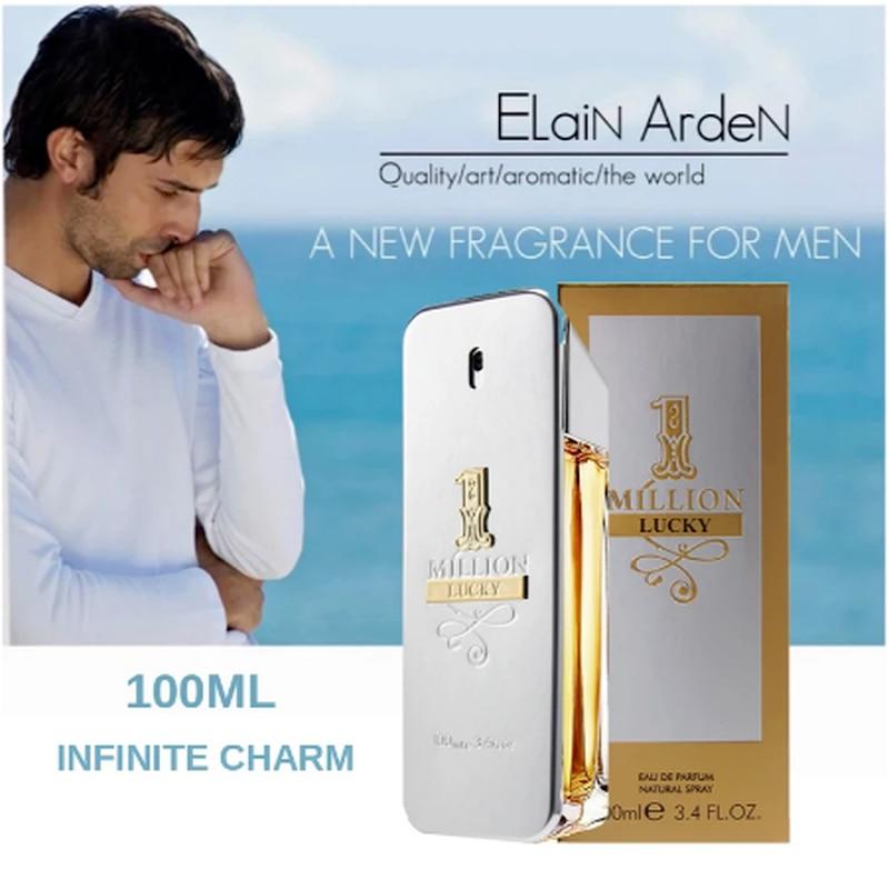 Men Parfume Cologne for Men Original  Lasting Parfum Spray Glass Bottle Fragrance Natural Gentleman Million Parfume Parfum Homme недорого