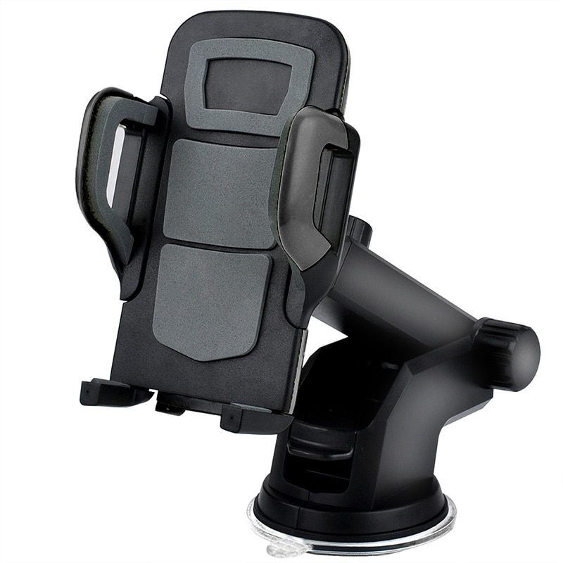 AliExpress - Car Phone Holder Mobile Phone Holder Stand in Car No Magnetic GPS Mount Support For iPhone 11 Pro Xiaomi Samsung