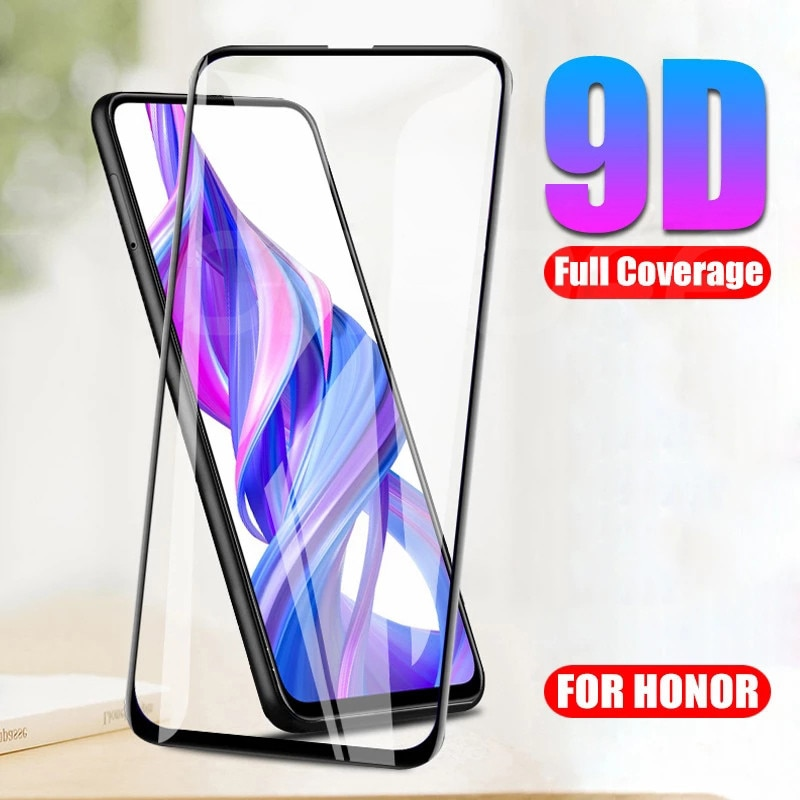 9D Tempered Glass on the For Huawei Honor 9X 9A 9C 9S X10 Screen Protector Glass Honor 8X 8A 8C 8S 2