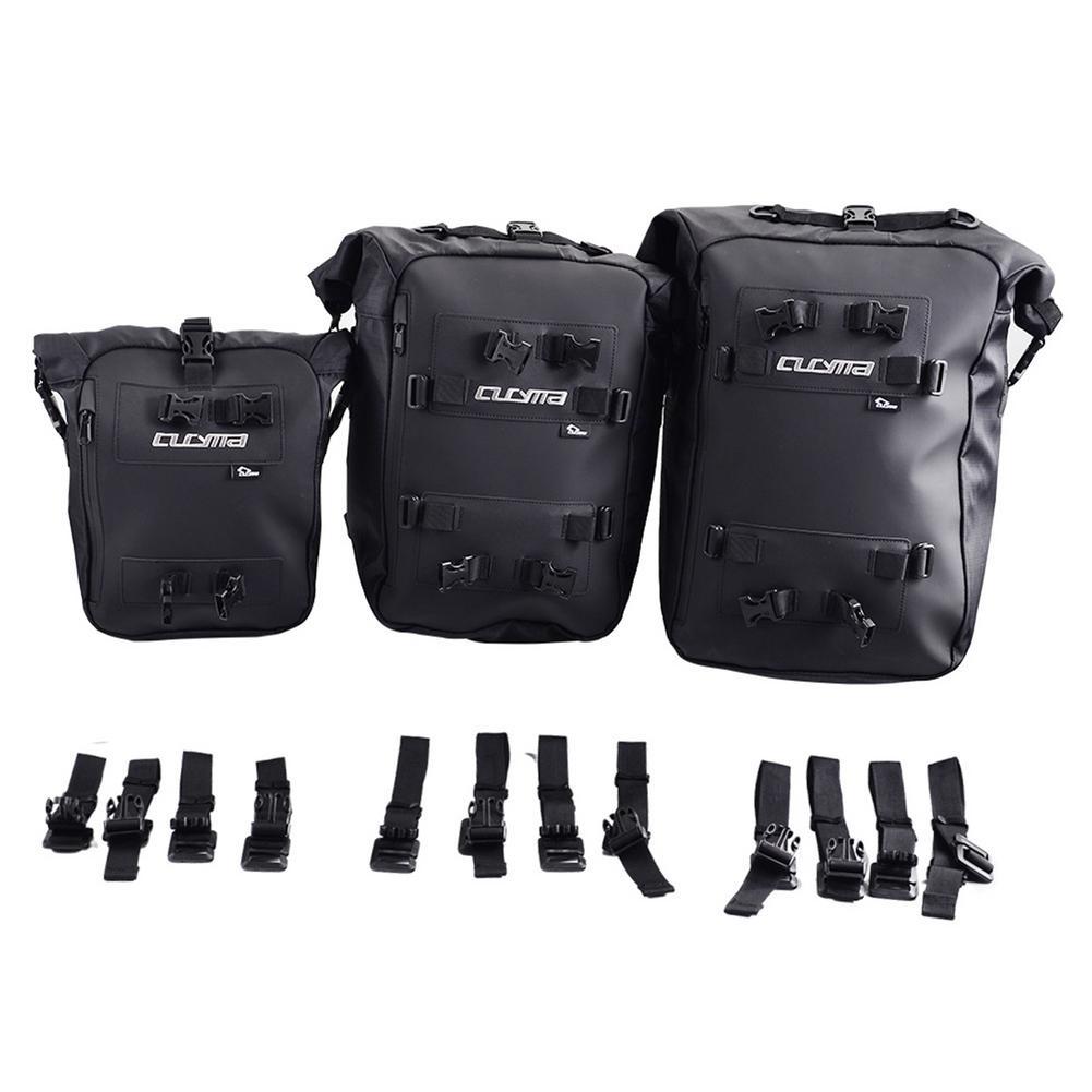 حقيبة ظهر للدراجات النارية ، معدات خلفية مقاومة للماء PVC للتجديف وصيد الأسماك والتخييم ، 10 لتر 20 لتر 30 لتر ، متعددة الأغراض