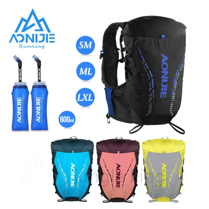AONIJIE 2020 Newest C9104 Ultra Vest 18L Hydration Backpack Soft Water Bladder Flask for Hiking Trail Running Marathon Race with