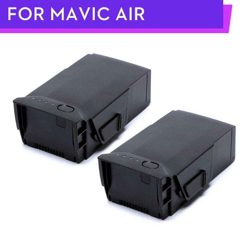 2 Pcs Original DJI Mavic Luft Batterie Intelligente Flug Batterien Max 21-min Flug zeit 2375 mAh 11,55 V für Dji mavic Luft Drone