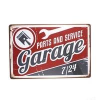 vintage tin metal signs garage poster metal poster bedroom bar club garage gallery home wall decor poster
