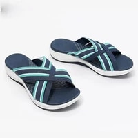 women slippers 2021 summer new rome retro sandals flat casual shoes female slip on slides woman shoes plus size sandalias mujer