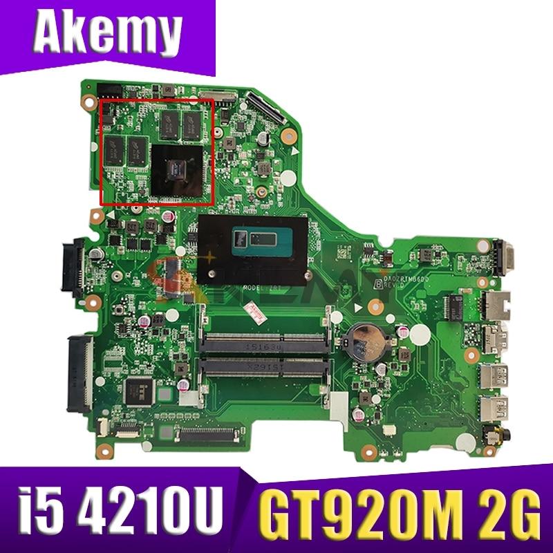 DA0ZRTMB6D0 اللوحة لشركة أيسر E5-573 E5-573G اللوحة المحمول وحدة المعالجة المركزية i5 4210U GT920M 2G DDR3 اختبار موافق اللوحة
