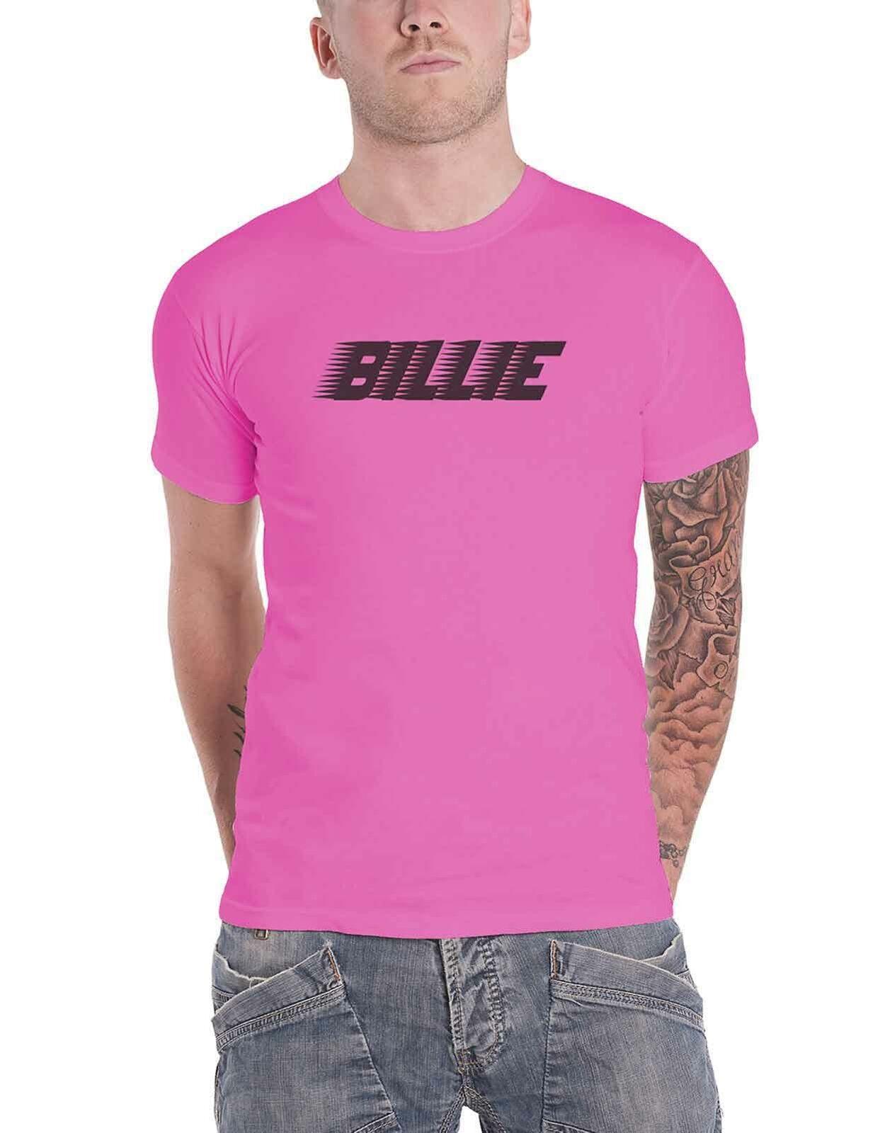 Billie Eilish T Shirt Racer Blohsh Logo When We All Fall Asleep new