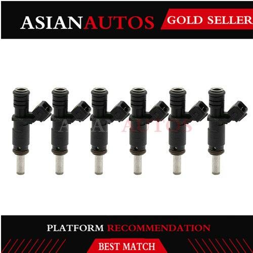 6PCS parte Auto Bocal de combustível Para BMW E87 E90 E91 E60 E61 E63 E65 E83 E85 N52 3.0L L6 2007-2013 Injector De Combustível 7531634