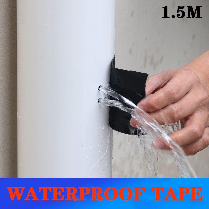 1.5m Super Strong Waterproof Tape Pipe Crack Pool Rescue Repair Stop Leaks Seal Repair Tape Fiber Duct Tape Self Adhesive Tape