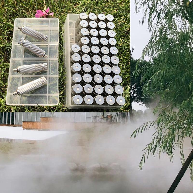 H39 عالية الضغط 30bar TW1010-TW8010 فوهة البخاخ ضباب جاف مايكرو ضباب خام سيراميك ل الترطيب نظام تبريد الرطوبة 50 قطعة
