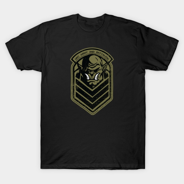 Camiseta de hombre Orc Army por Winter Artwork camiseta mujer camiseta