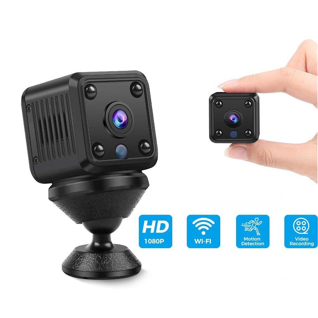 Mini cámara inalámbrica Wifi gran angular visión nocturna IP cámara de inspección de seguridad para el hogar al aire libre
