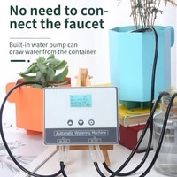 15m automatic watering device houseplants watering system mobile phone control timer drip irrigation tool gardening irrigation