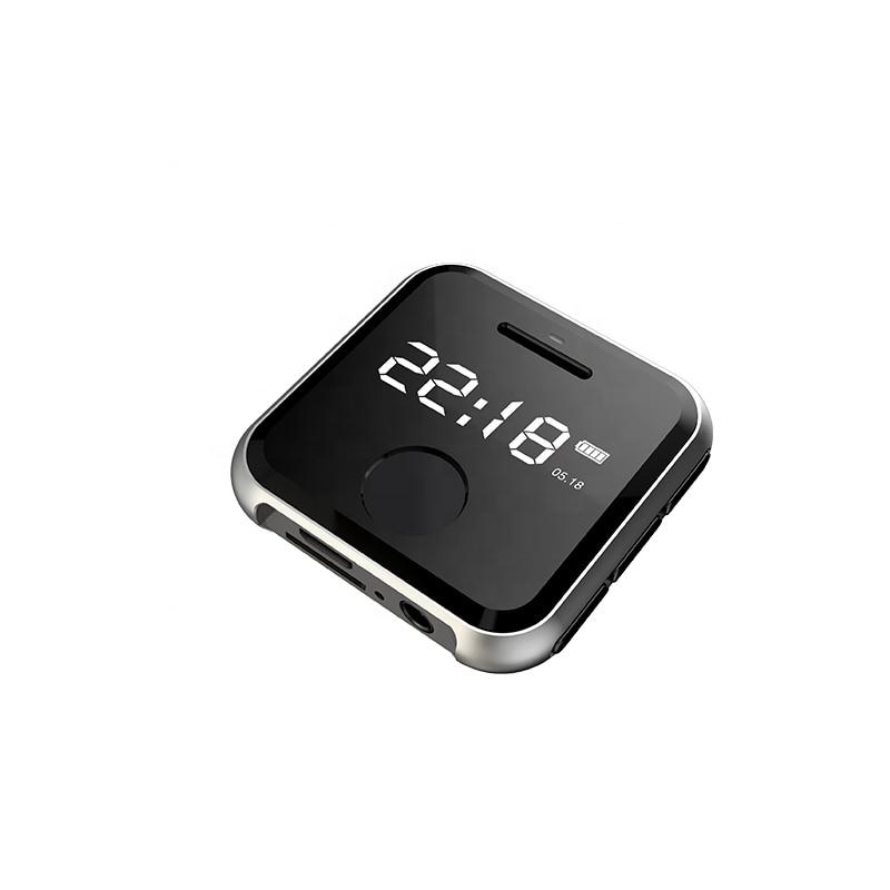 16GB MP3 Player, Portable HiFi Lossless Sound MP3 Music Player with FM Radio Voice Recorder E-Book 0