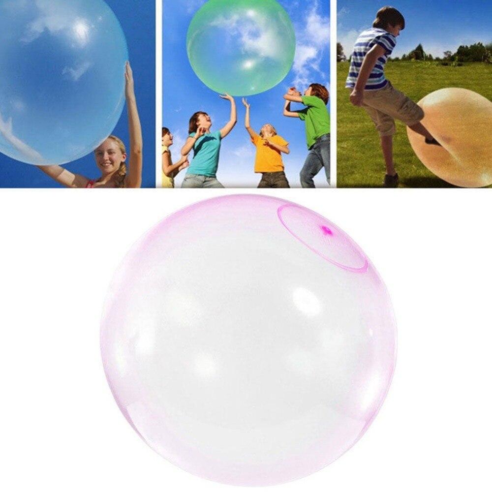 Elastische Kugel Inflation Bounce Wasser Blase TPR Ballon Kinder Wasser Sport Spiel Spielzeug Für Kinder Erwachsene Super Weiche Ballon