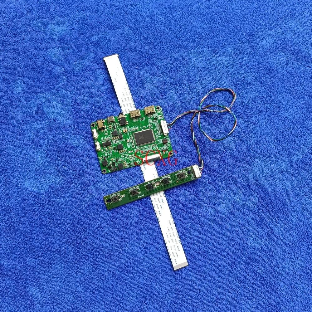 WLED EDP-30Pin 2Mini HDMI-متوافق صالح N133BGA-EA1 N133BGE-E31/E41/E51/E61/EAB لوحة بطاقة وحدة التحكم 1366*768 عدة 5 فولت مايكرو USB
