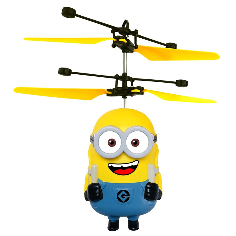Boy's RC toy sensing Fly Suspended induction aircraft Helicopter remote control